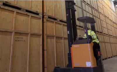 Furniture Storage Facility in Maldon Essex